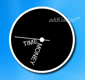 Пример больших часов на рабочий стол