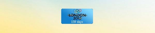 Отсчет до Олимпийских Игр 2012. Гаджет для Windows 7