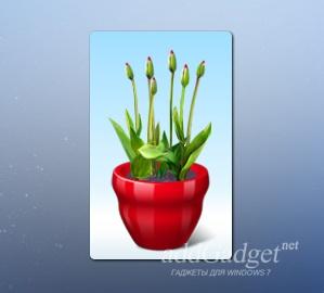 Виртуальный цветочный горшок