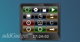 System Controls — гаджет для управления компьютером
