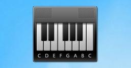 Гаджет пианино