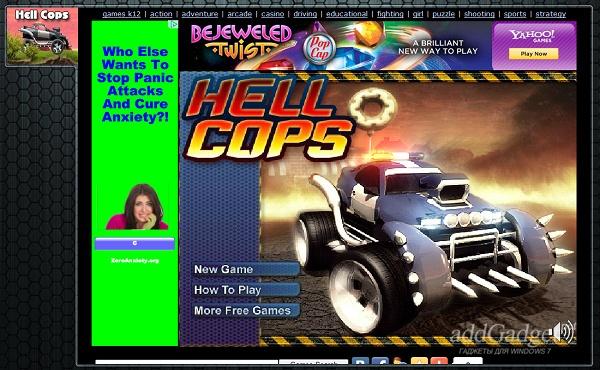 Гоночная игра Hell Cops