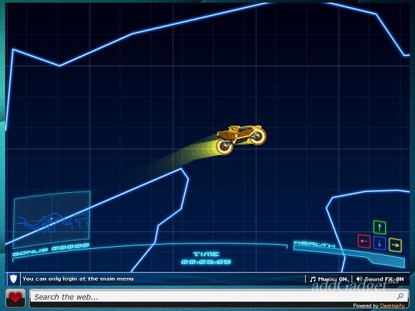 Гоночная игра Neon Rider World