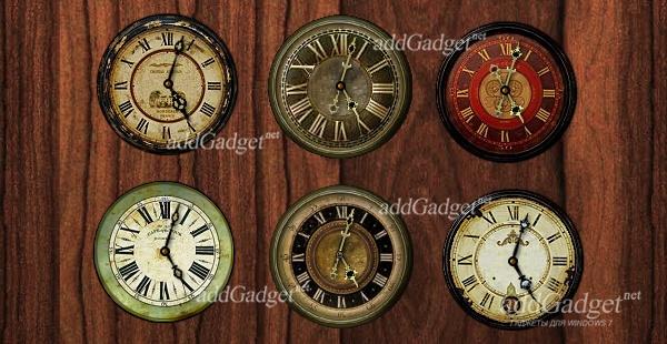 Несколько вариантов оформления часов