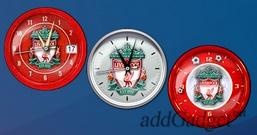 Часы в стиле ФК «Ливерпуль»