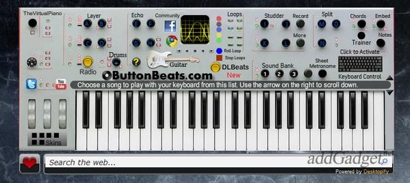 Виртуальный синтезатор