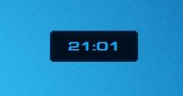Часы в стиле игры StarCraft II