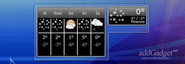 Погода на несколько дней