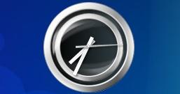RF Clock — гаджет стрелочных часов с симпатичным дизайном