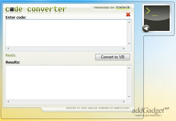 Конвертер кодов