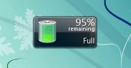 Battery Vista — удобный гаджет, который сообщит о низком заряде батареи