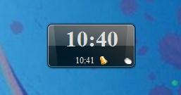 Цифровые часы с будильником
