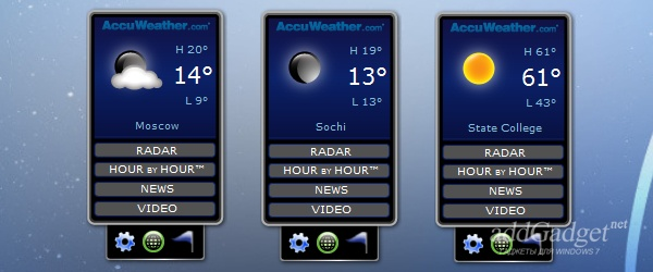 AccuWeather Forecast Radar