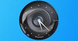 Часы в виде динамика Pioneer