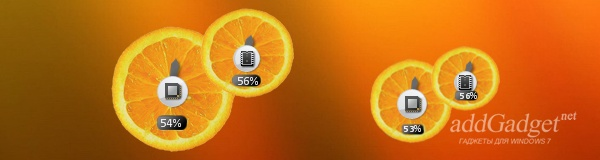 Fruity Orange CPU