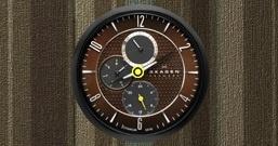Часы Wes' Black and Brown Skagen