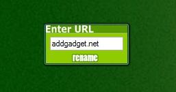 Rename URL