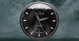 Стильные тёмные часы