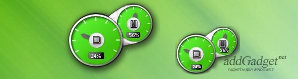 Green Cpu Meter