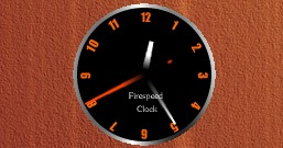 Fire Speed Clock