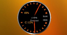 Fire Speed Ram Hdd Gauge