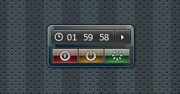 Auto System Shutdown — гаджет для быстрого выключения или перезагрузки компьютера