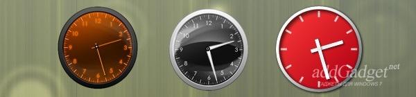 Белые блестящие часы