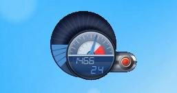 Гаджет F-Meter — индикатор загрузки процессора