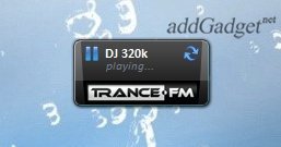 Гаджет радио Trance.fm