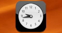 Часы в стиле iPhone