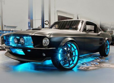 Windows 8 на Ford Mustang