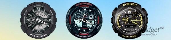 Часы Casio G-Shock для рабочего стола
