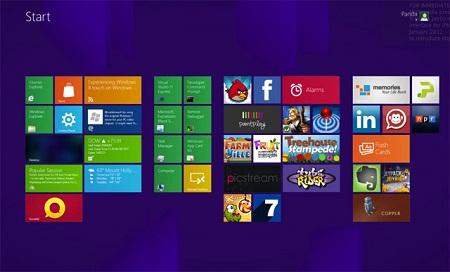 Приложения Windows 8 обновляются еще до выхода операционной системы