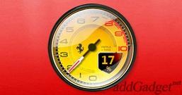 Ferrari System — индикатор загрузки процессора
