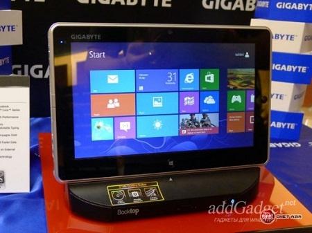 Представлен новый 10-дюймовый планшет Gigabyte S1082 на Windows 8
