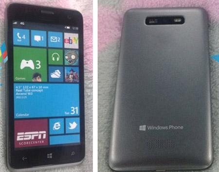 Новые смартфоны Huawei Ascend W1 и W2 на CES 2013