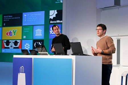 Веб-сервис для создания приложений под Windows 8