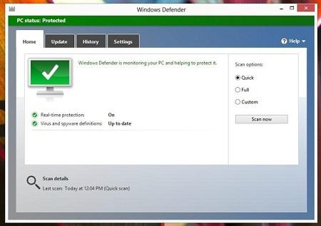 Windows 8 справился с 85% угроз
