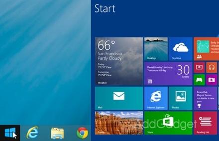 """Microsoft вернет """"Пуск"""" в новой Windows 8.2"""