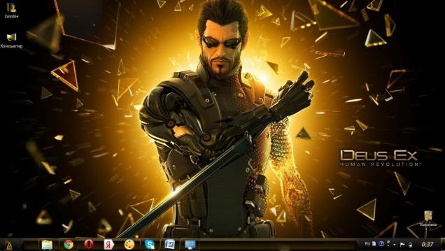 Тема для поклонников игры Deus Ex Human Revolution - Скриншот #2