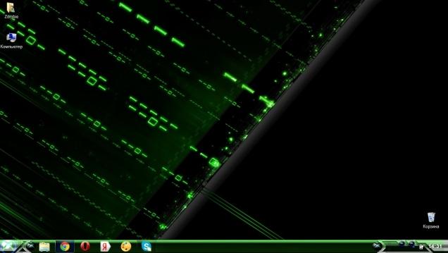 Темная тема в стиле XBOX 360 - Скриншот #1