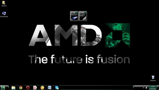 Тема в стиле AMD - Скриншот #3