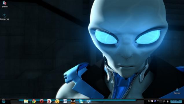 Alienware inspired - Скриншот #1