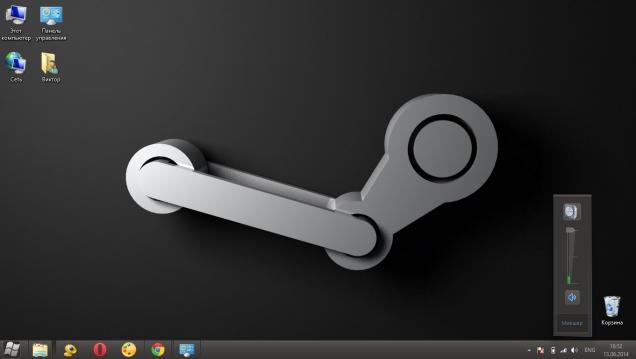 Оформление Windows 8 в стиле сервиса Steam - Скриншот #2