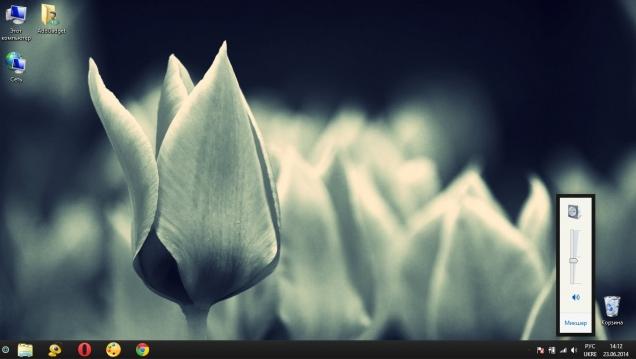 Яркая тема в стиле минимализма - Скриншот #3