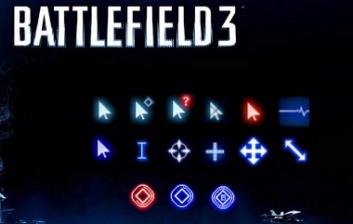 Курсоры в стиле игры Battlefield 3