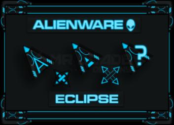 Неоновые стильные курсоры в стиле Alienware
