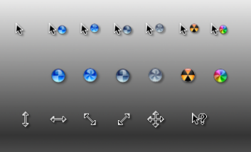 Свежие курсоры в стиле Mac OS