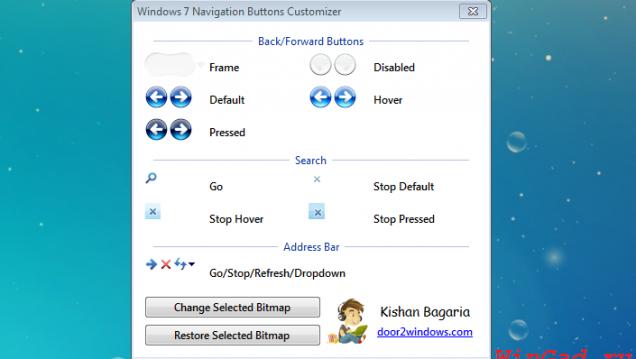 Navigation Buttons Customizer