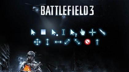 Второй набор курсоров в стиле игры Battlefield 3